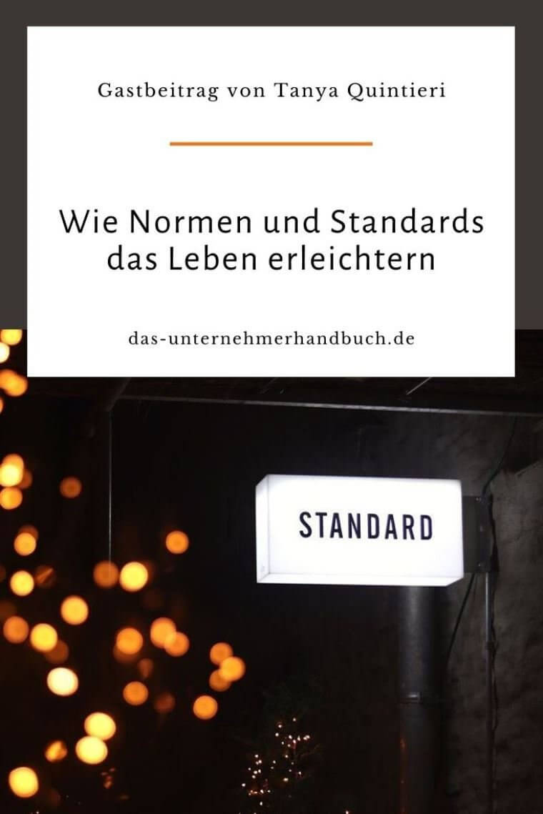 Normen und Standards