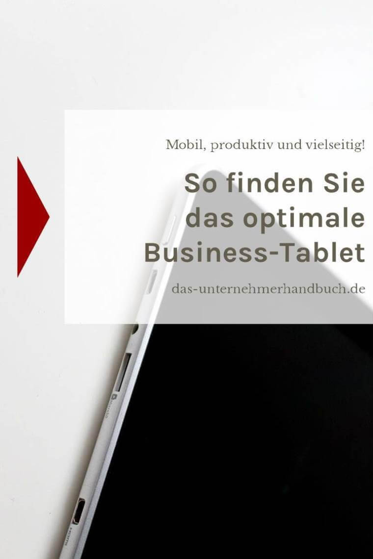 Business-Tablet