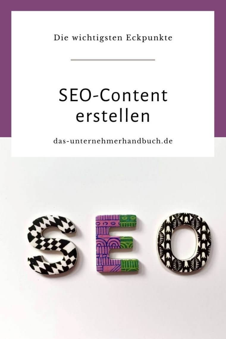 Keywords, SEO-Content